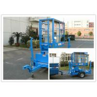 Buy cheap Hydraulic Trailer Mounted Boom Lift 8 Meter For Outdoor Maintenance Work product