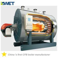 Buy cheap WNS 6t/h oil fired fire tube steam boiler for Textile industry from wholesalers