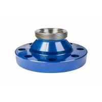 Buy cheap Api 6a Oilfield 15000 Psi Fig 1502 Pipe Flange Adapter Material 4130 With Weco Union product