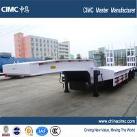 Buy cheap tri-axles 30 tons low bed trailer product