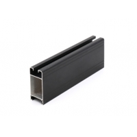 Buy cheap Polished Slide Rail GB /75237-2004 Aluminum Door Extrusions product