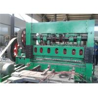 High Load Gravity Expanded Metal Sheet Making Machine For 40 X 80 Mm Mesh