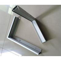 Buy cheap T5 / T6 6000 Series Anodized Aluminum Solar Panel Frame ISO9001 Certification product