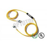 Buy cheap 2X2 1m Single Mode Fiber Coupler 1310 / 1550nm LC / UPC With With Single Window product