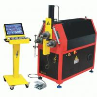 Buy cheap CNC Exhaust Pipe Bender Machine High Accuracy Roll Hydraulic Bending Machine product