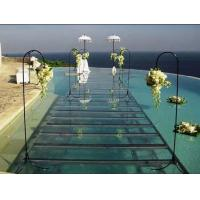 Buy cheap Portable aluminum acrylic stage platform for swimming pool , aluminium stage deck product