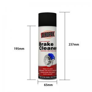 Buy cheap OEM UN1950 DME Gas Aeropak 500ML Brake Cleaner Spray product