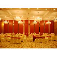 Buy cheap Aluminum Sliding Door Movable Acoustic Walls For Meeting Room No Floor Track product