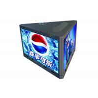 Buy cheap Three Sides Outdoor P3.91 Taxi Top Roof Advertising Led Sign 1000mm x 500mm Per Side product