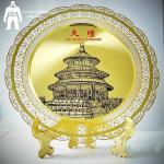 Buy cheap Sandblasting Or Etching Metal Gold Medal ,  Business  Club Folk Art Award Medals product