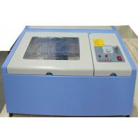 Buy cheap Mini Portable Acrylic CO2 Laser Engraving Machine 40 Watt With Advanced Positioning System product
