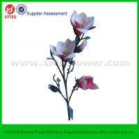 "Buy cheap 33"" Decoration Silk Fabric Flower of Magnolia product"