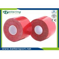 Hot sell kinesiology Kinesio Tape / Pure cotton,Waterproof/Sports Safety Red Colour
