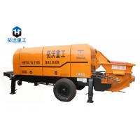 Buy cheap Long Distance Delivery Lightweight Concrete Pump , Small Portable Concrete Pump product