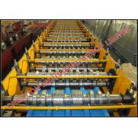 Buy cheap Steel / Aluminium Roof Panel Roll Forming Machine 380V / 50HZ product