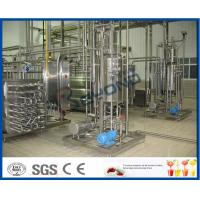 Buy cheap 1000 - 100000LPH Ultra High Temperature UHT Milk Processing Line With Aseptic from wholesalers