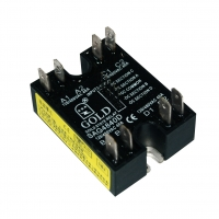 Buy cheap 3v 50 Amp 2 Phase Solid State Relay For Dc Load Switching product