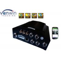 Buy cheap 4 Channel Bus People Counter WIFI Car DVR Video Recorder SD Card Drive Hybrid Storage product