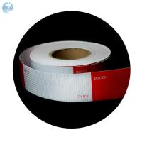 "Buy cheap High Intensity DOT Reflective Tape , Red And White Reflective Tape For Trucks Trailers 6"" product"