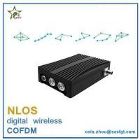 Buy cheap 16 nodes COFDM nlos video and data transceiver wireless IP MESH from wholesalers
