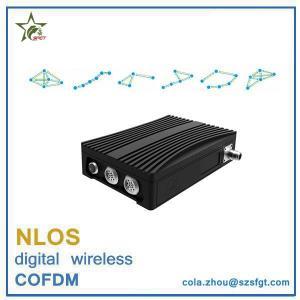16 nodes COFDM nlos video and data transceiver wireless IP MESH
