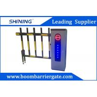 Buy cheap 2.0 mm Cold Steel Driveway car Parking Barrier Gate With Led Light product
