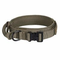 Buy cheap Tactical Adjustable Nylon Dog Collar K9 Heavy Duty Metal Buckle With Handle product