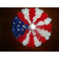 Buy cheap Silk vases Artificial Decorative Flowers Garlands with the Stars and Stripes from wholesalers