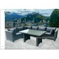 Buy cheap Luxury Rattan Wicker Patio Furniture Deep Seating Set With Aluminium Frame product