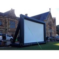 Buy cheap Multipurpose Inflatable Movie Screen Logo Printing Customized Design product