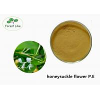 Buy cheap Food Grade Honeysuckle Flower Extract P.E. With ISO Certificated from wholesalers