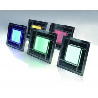 200mm High Brightness Plastic Outdoor LED Solar Brick Lights CE And ROHS Approved