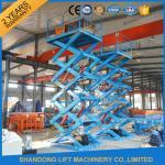 Buy cheap 3.5T 7.5M Hydraulic Scissor Lift Platform Warehouse Material Handling Lift CE product