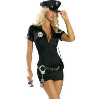 Buy cheap High Quality Halloween Sexy Police Costumes Hot Pursuit Cop Costume for Party Adult from wholesalers