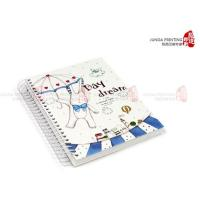Buy cheap YO Ring Notebook Printing , Custom Printing Brochures , Color Notebook product