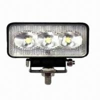 Buy cheap 9W LED Work Light with Operating Voltage Ranging from 10 to 30V DC product