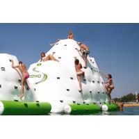 China Popular Climbing Inflatable Water Toys , Inflatable Water Ice Berge on sale