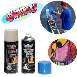 Buy cheap Fading Resistant Aerosol 500ml Graffiti Artist Spray Paint Enviromental Friendly product
