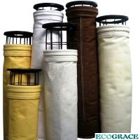 Buy cheap Customized Alkali Resistant 750 - 1000gsm PTFE Filter Bag For Thermal Power Plant / Metallurgy / Cement kiln product