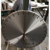 Buy cheap 450mm Laser Loop Diamond Concrete Saw Blade for Airport Traffic Road Cutting from wholesalers