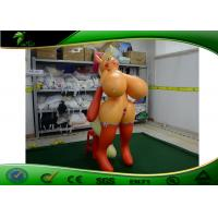Quality 2M Sexy Pony Boobs Girl Toys / Inflatable Sexy PVC Pony Girl With Big Tits for sale