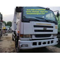 Buy cheap Durable 25 Tons Used Dump Trucks , Japan 10 Wheel Dump Truck PF6 Engine product