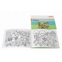 Buy cheap A5 Childrens Coloring Books Black Printed Drawing Saddle Stitch Bound product