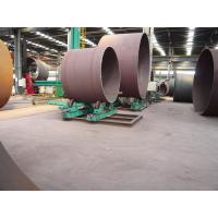 Buy cheap 10T Cylinder Steel Pipe Welding Rollers / Self-aligning Welding Rotator 2 x 0.55kw from wholesalers