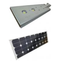 Buy cheap Waterproof Solar Powered Led Street Lights 60W With  Intelligent Light Control product