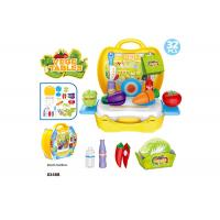 """Buy cheap 10.3"""" Childrens Toy Kitchen Sets , Colorful Cooking Toys For Kids 32 Pcs product"""