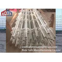 Buy cheap Blot Flat Layer Truss , Aluminum Stage Truss Lifting Advertisement Picture from wholesalers