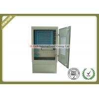 Buy cheap 144 Core Outdoor Fiber Optic Distribution Cabinet With Various Types Connector product