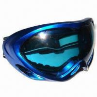 Buy cheap Safety Glass, Made of PC, with ABS Frame, Elasticated and Fabric Strap product