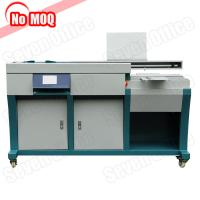 Buy cheap SO-GB009 automatic bookbinding glue binding machine with side glue function from wholesalers